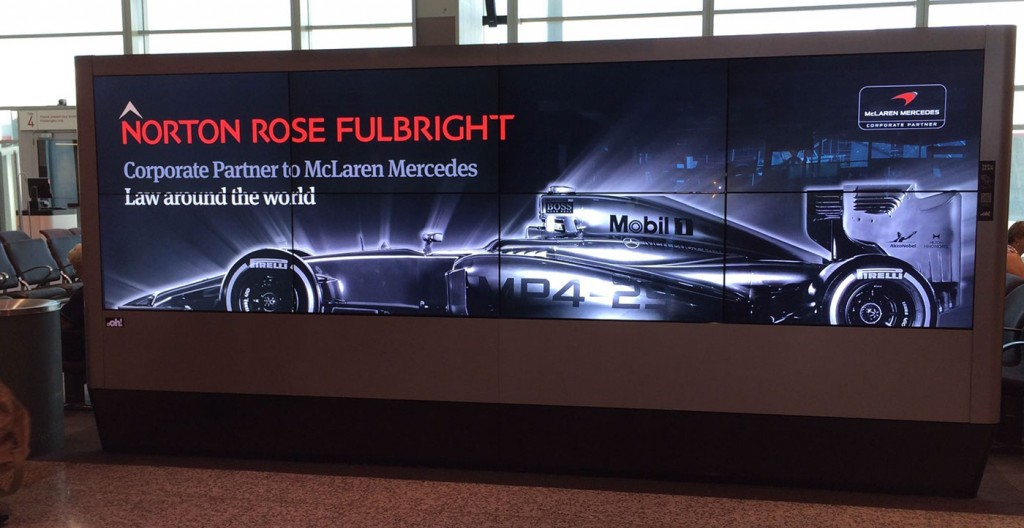 Norton Rose Fulbright corporate partner to McLaren Mercedes